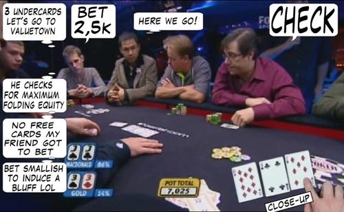 World Series of Poker Europe Comic 106