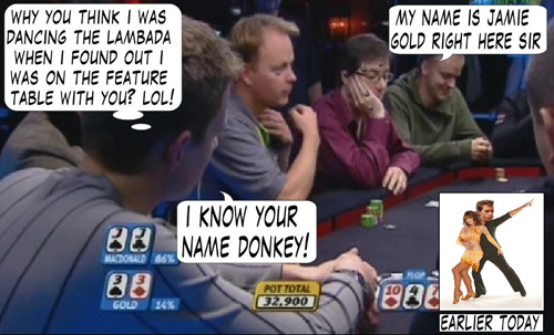 World Series of Poker Europe Comic 111