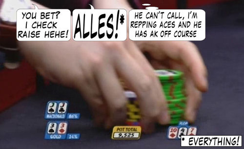 World Series of Poker Europe Comic 107