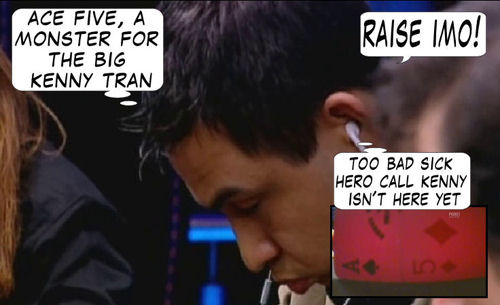 World Series of Poker Europe Comic 117