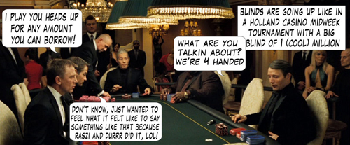 James Bond Casino Royale Poker Comic 105