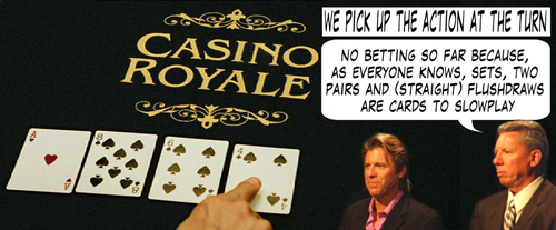James Bond Casino Royale Poker Comic 106