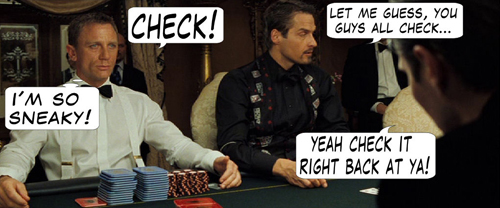James Bond Casino Royale Poker Comic 107
