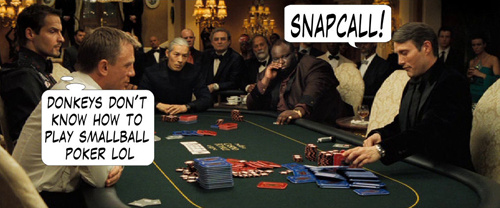 James Bond Casino Royale Poker Comic 112