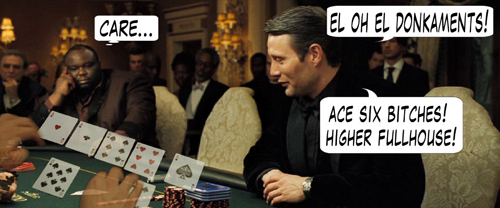 James Bond Casino Royale Poker Comic 115