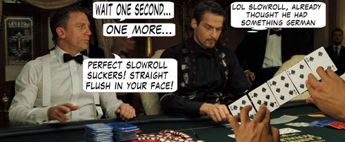 James Bond Casino Royale Poker Comic 116