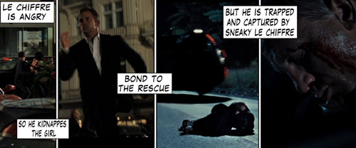 James Bond Casino Royale Poker Comic 118