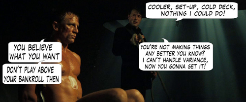 James Bond Casino Royale Poker Comic 121
