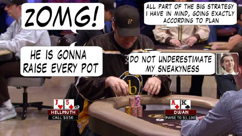 National Heads Up Championchip Comic 106