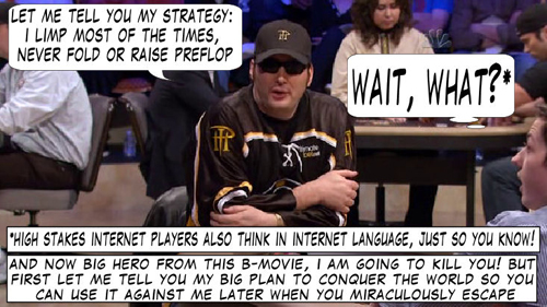 National Heads Up Championchip Comic 109