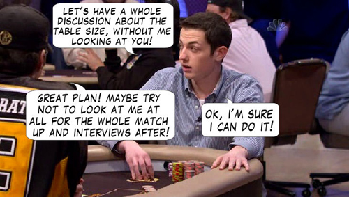 National Heads Up Championchip Comic 112