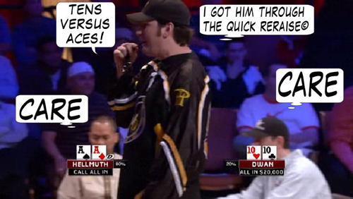 National Heads Up Championchip Comic 118