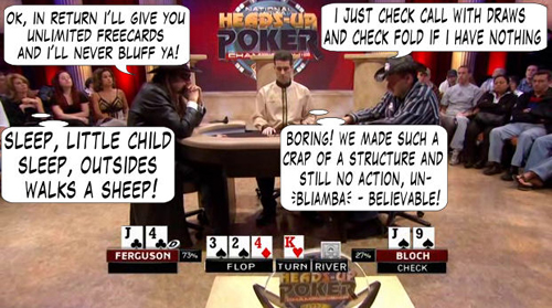National Heads Up Championship - PokerNews Comic 101