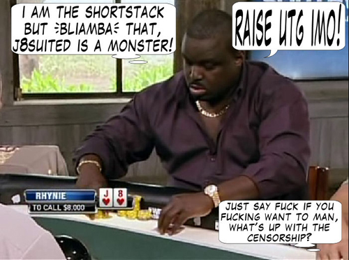 National Heads Up Championship - PokerNews Comic 105