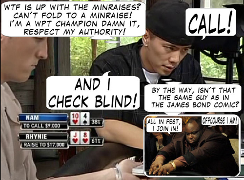 National Heads Up Championship - PokerNews Comic 106