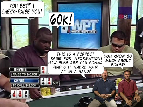 National Heads Up Championship - PokerNews Comic 116