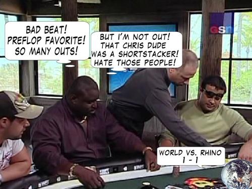 National Heads Up Championship - PokerNews Comic 118
