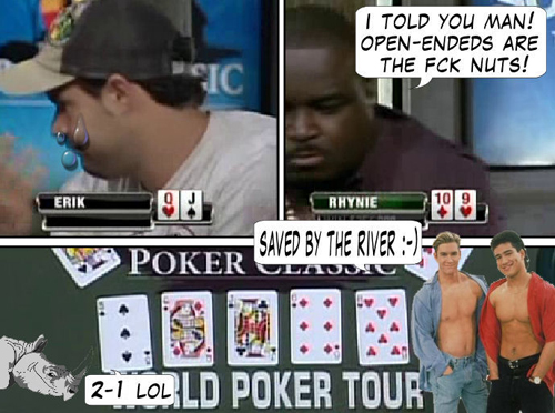 National Heads Up Championship - PokerNews Comic 122