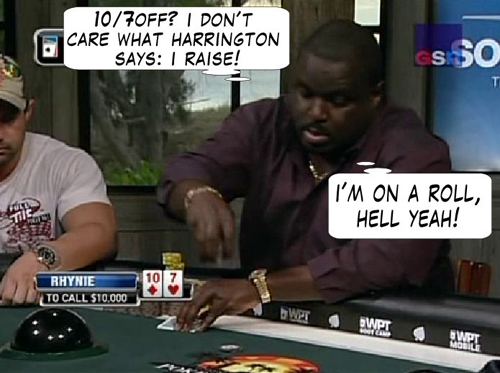 National Heads Up Championship - PokerNews Comic 128