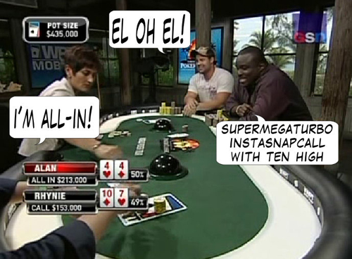 National Heads Up Championship - PokerNews Comic 129