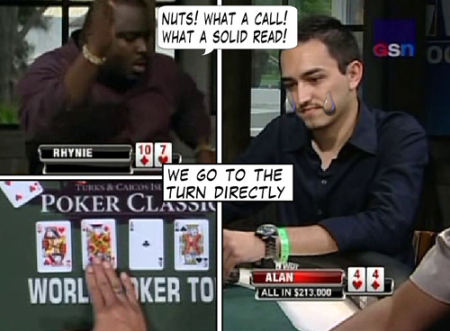 National Heads Up Championship - PokerNews Comic 130
