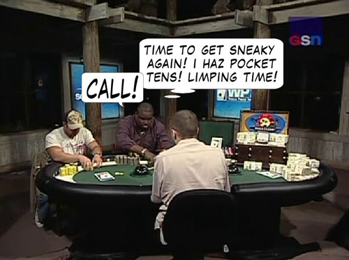 National Heads Up Championship - PokerNews Comic 131