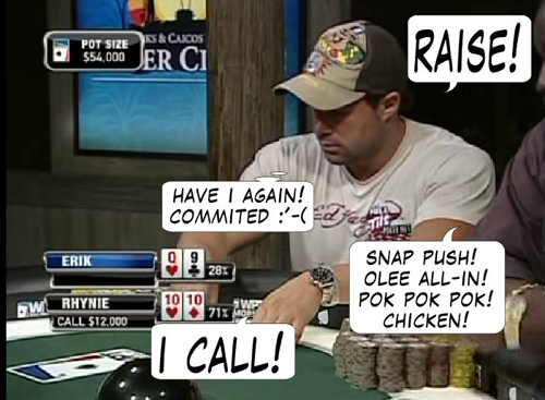 National Heads Up Championship - PokerNews Comic 132