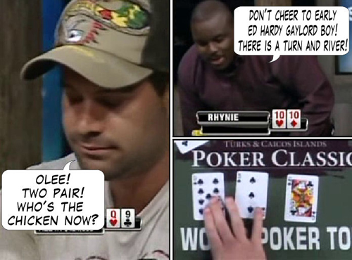 National Heads Up Championship - PokerNews Comic 133