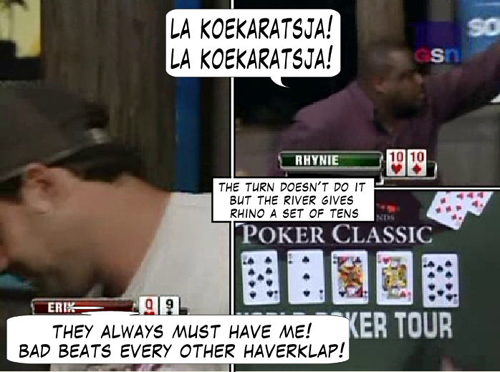 National Heads Up Championship - PokerNews Comic 134