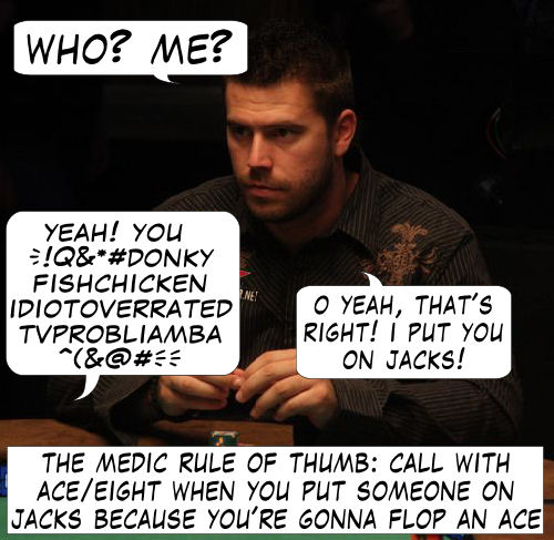 Live from Las Vegas - Poker Comic 105