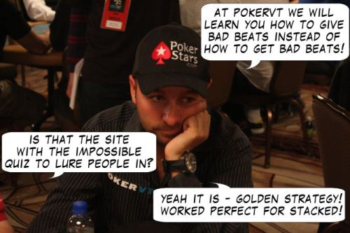 Live from Las Vegas - Poker Comic 113