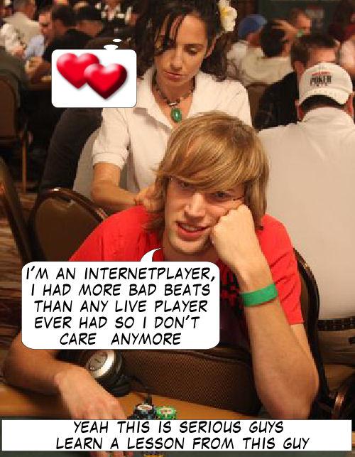 Live from Las Vegas - Poker Comic 116