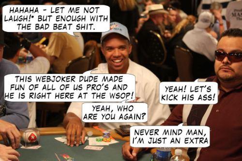 Live from Las Vegas - Poker Comic 117