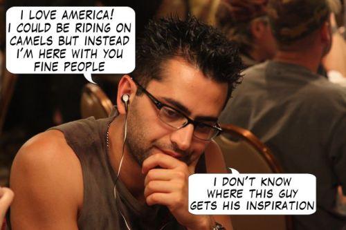 Live from Las Vegas - Poker Comic 118