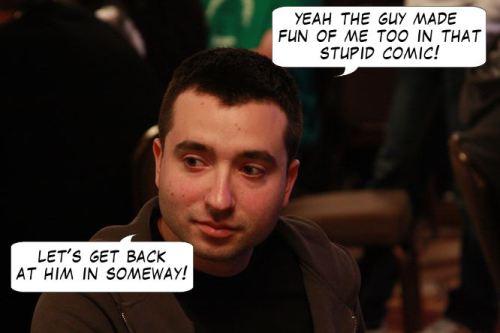 Live from Las Vegas - Poker Comic 119