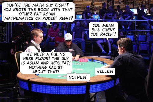 WSOP Comic, The Quest for a Bracelet 105