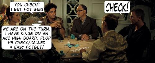 Casino Royale Poker Comic 109