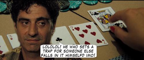 Casino Royale Poker Comic 122