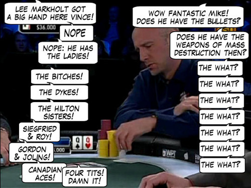 World Poker Tour Comic - De Mike & Vince Show! 105