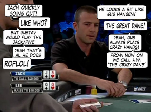 World Poker Tour Comic - De Mike & Vince Show! 106