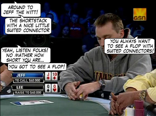 World Poker Tour Comic - De Mike & Vince Show! 107