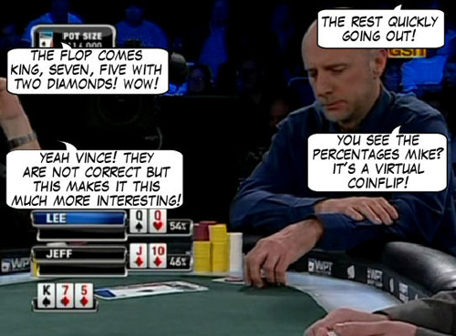 World Poker Tour Comic - De Mike & Vince Show! 108