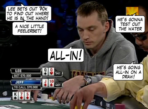 World Poker Tour Comic - De Mike & Vince Show! 109