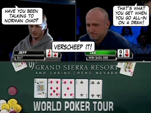 World Poker Tour Comic - De Mike & Vince Show! 111