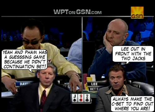 World Poker Tour Comic - De Mike & Vince Show! 112