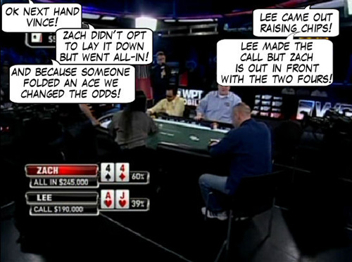 World Poker Tour Comic - De Mike & Vince Show! 113
