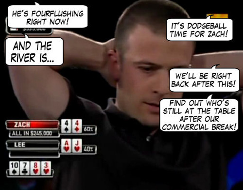 World Poker Tour Comic - De Mike & Vince Show! 115