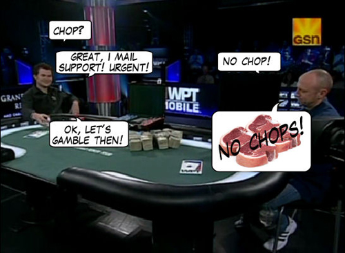 World Poker Tour Comic - De Mike & Vince Show! 118