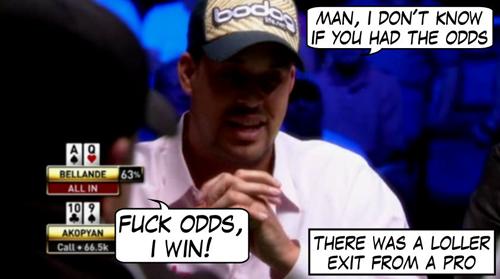 World Series of Poker Comic 115