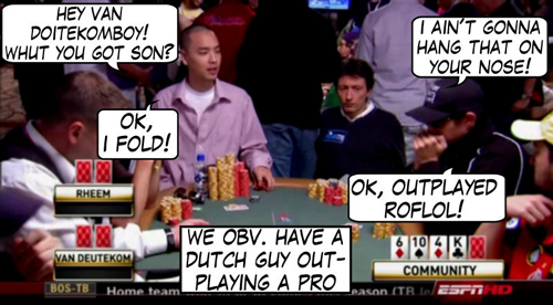 World Series of Poker Comic 116